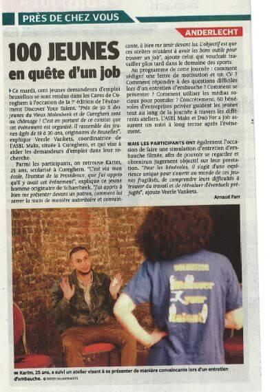 Discover Your Talent - La Dernière Heure