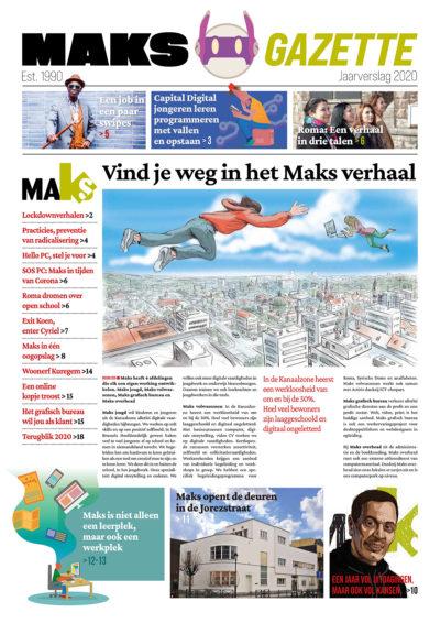 Maks gazette - jaarverslag 2020